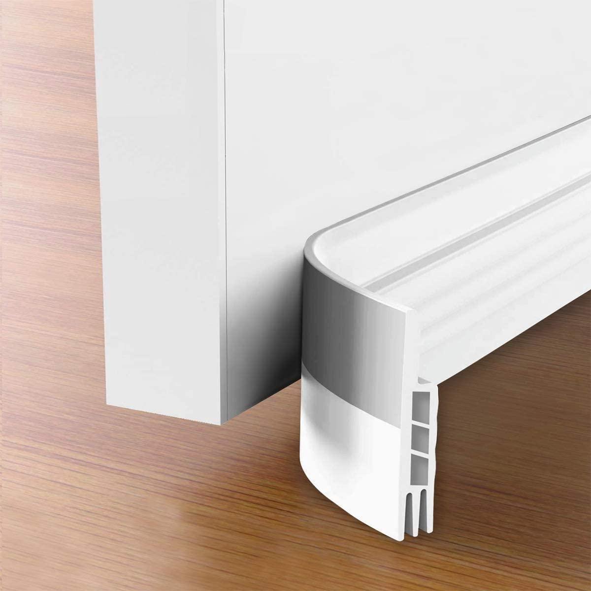 Tochtstrips voor deuren - Witte tochtstopper - tochtstrips zelfklevend